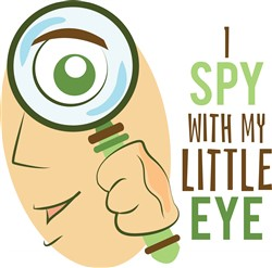 I Spy Print Art