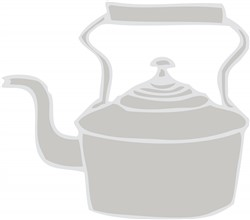 Tea Kettle Print Art