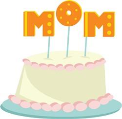 Mom Cake Print Art