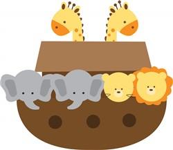 Noahs Ark Print Art