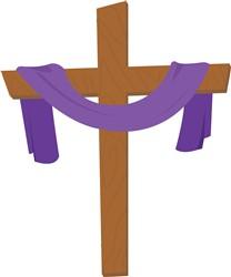 Easter Cross Print Art