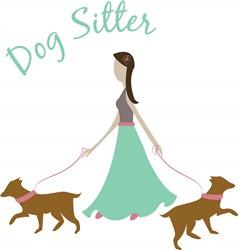 Dog Sitter Print Art