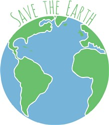 Save The Earth Print Art