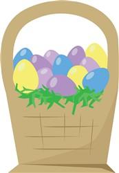 Egg Basket Print Art