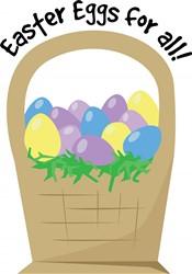 Eggs For All Print Art