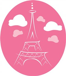 Eiffel Tower Print Art