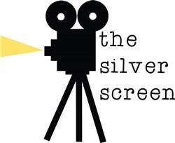 Silver Screen Print Art