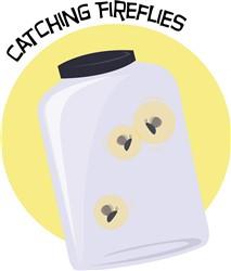 Catching Fireflies Print Art