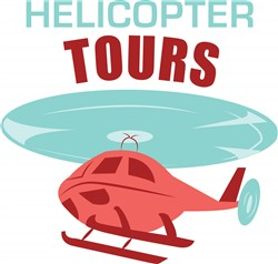 Helicopter Tours Print Art