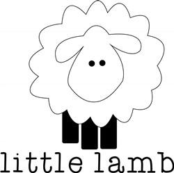 Little Lamb Print Art