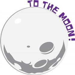 To The Moon Print Art