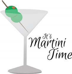 Martini Time Print Art