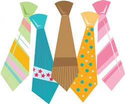 Neck Ties Print Art