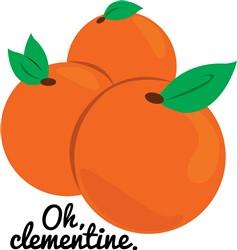 Oh Clementine Print Art