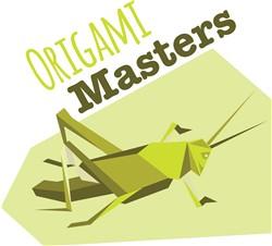 Origami Masters Print Art