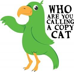 Copy Cat Print Art