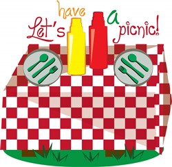 Lets Have a Picnic Print Art