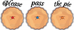 Please Pass the Pie Print Art