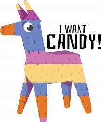 Want Candy Print Art