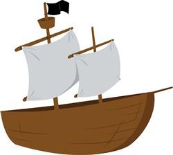 Boat Ship Print Art
