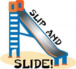Slip and Slide Print Art