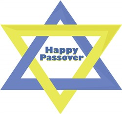 Happy Passover Print Art
