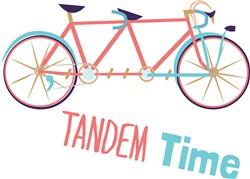Tandem Time Print Art