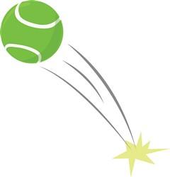 Tennis Ball Print Art