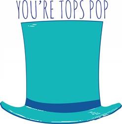 Tops Pop Print Art