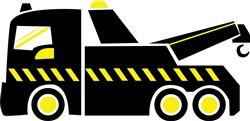 Tow Truck Print Art