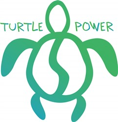 Turtle Power Print Art