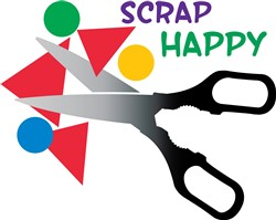 Scrap Happy Print Art