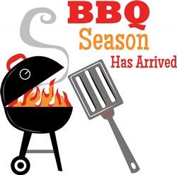 BBQ Season Print Art