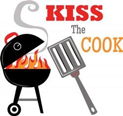 Kiss the Cook Print Art