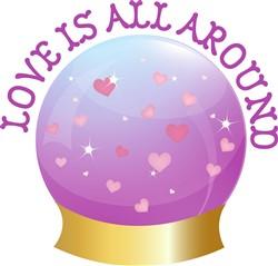 Love is All Around Print Art