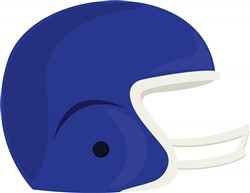 Football Helmet Print Art