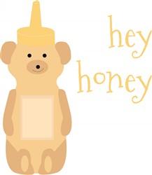 Hey Honey Print Art