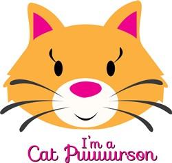 Cat Puuuurson Print Art