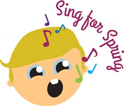 Sing for Spring Print Art