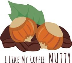 Nutty Coffee Print Art