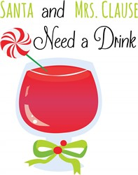 Need A Drink Print Art