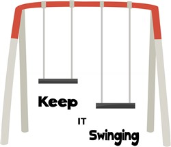Keep It Swinging Print Art