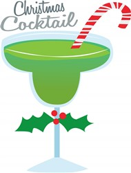 Christmas Cocktail Print Art