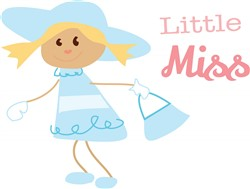 Little Miss Print Art