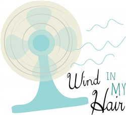 Wind In My Hair Print Art