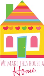 Make House Home Print Art