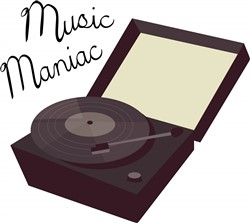 Music Maniac Print Art