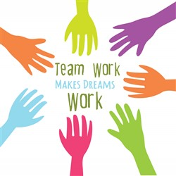 Team Work Print Art