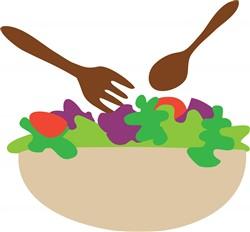 Salad Bowl Print Art