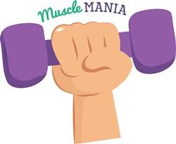 Muscle Mania Print Art